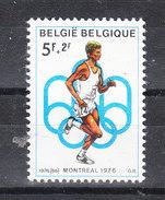 Belgio   -   1976. Corsa. Olympic Run - Athletics
