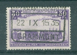 "BELGIE - OBP Nr TR 198 - Cachet ""GEERAARDSBERGEN - GRAMMONT"" - Cote 5,00 € - (ref. AD-9026) - Ferrocarril"
