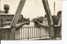 ORIGNY SAINTE BENOITE      Le Canal ,peniches   No 2 - Other Municipalities
