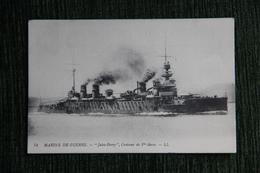 """Marine De Guerre - Le Croiseur Cuirassié De 1ere Classe : """" JULES FERRY """". - Guerre"""