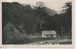 CPA - SUD VOGESEN - ROTES RIED GEGEN HOHNECK UND FRANKENTAL  - T. B. E. - Autres Communes