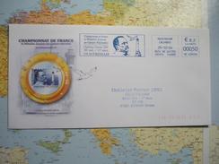 Championnat De France De Philatélie Jeunesse Challenge Pasteur 30/10 1/11/2004 Ouistreham 0.50€ 29/10/2004 - EMA (Empreintes Machines à Affranchir)