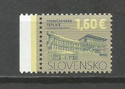 Slovakia 2016. Definitive Stamp,Trencianske Teplice MNH - Slovakia