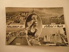 CPSM 14 - CALVADOS - VILLERS SUR MER VUES GÉNÉRALES - MULTI VUES - Villers Sur Mer