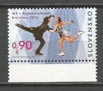 Slovakia 2016. European Figure Skating Championship In Bratislava MNH - Slovakia