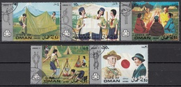 Oman 1971 GIRL SCOUTS - JAMBOREE  Full Set Nuovo Preoblit. - Oman