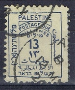 DO 5015 PALESTINA GESTEMPELD YVERT NR TAXE 5 COTE € 20,00 ZIE SCAN - Palestine