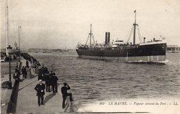 LE HAVRE - Vapeur Sortant Du Port - Dampfer