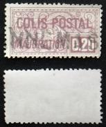 COLIS POSTAUX N° 158 TB Oblit Cote 20€ - Used