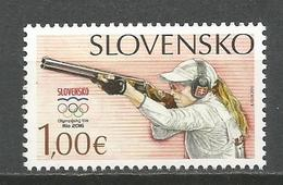 Slovakia 2016. Olympic Games Rio De Janeiro MNH - Slovakia