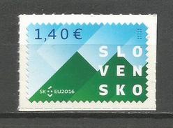 Slovakia 2016. Slovak Presidency In Council Of The European Union MNH - Slovakia