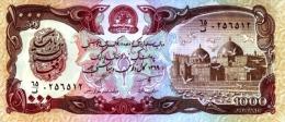 Afghanistan 1990 Billet 1000 Afghanis Pick 61 B Neuf 1er Choix UNC SH1369 - Afghanistan