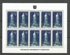 Slovakia 2016. Geyser Of Herlany UNESCO MNH Sheet - Slovakia