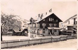 "05172 ""SUISSE - CANTON VAUD - CHATEAU D'OEX"" PAESAGGIO. FOTO G. NEIDL. CART. SPED. 1948 - VD Vaud"