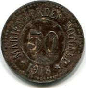 Monnaie De Necessité Allemande Assez Rare  ( état Figurant Sur La Photo  ) - Monétaires/De Nécessité