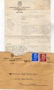 VP7163 - Papier  Du Tribunal Instance De MATARO ( Espagne ) Concernant Mr Gustave ARRCUS à PARIS - Sammlungen