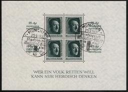 DR, 1937, Block 11, Selt. So.-Stp. , #6899 - Blocks & Kleinbögen