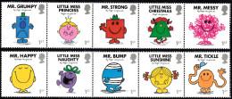 GB ~ 2016 ~ Mr. Men & Little Miss ~ MNH - 1952-.... (Elisabetta II)