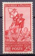 1954 Italy (Italie) 64th Death Anniversary Of Carlo Lorenzini Writer (1v) MNH (M-230)