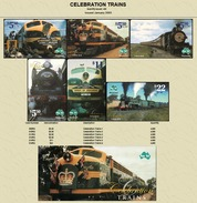 """Australian PAYTEL Phonecards """"CELEBRATION TRAINS"""" Set No 65 Of 6 In Unused Condition In Special Limited Edition Pack 450 - Trains"""