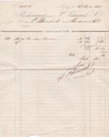 Germany - Leipzig - Rechnung From 1858 (LAR2-O) - Bills Of Exchange