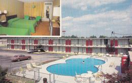 Battleboro North Carolina USA - Gold Rock Inn - Hotel Motel Auberge - I-95 Exit 145 - 2 Scans - Other