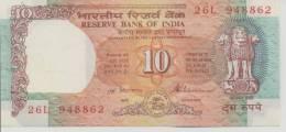 INDIA P.  88a 10 R 1992 UNC - India