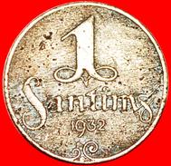 § MONSTERS: Latvia (ex. USSR, Russia) ★ 1 SANTIM 1932! LOW START ★ NO RESERVE! - Latvia