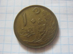 Turkey 10 Kurus 1926 - Turquia