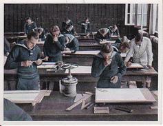 CAID Sammelbild - Unsere Reichsmarine - Lehrgang Konstruktionszeichnen  (26557) - Cigarette Cards