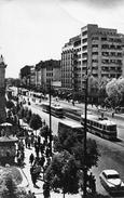 "05191 ""REPUBLICAPOPULARA ROMINA - BUCARESTI"" ANIMATA, AUTO, TRANWAY. CART  NON SPED - Romania"