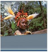 (7001) Papau New Guinea - Chimbu Girl - Papua-Neuguinea