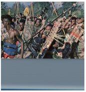 (7001) Papau New Guinea - War Dancer - Papua-Neuguinea