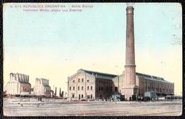 ARGENTINA ** BAHIA BLANCA - INGINIERO WHITE - USINA LUZ ELETRICA - Centrale électricité - Argentine