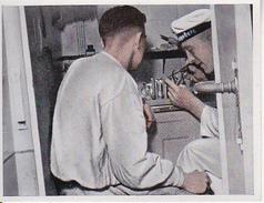 CAID Sammelbild - Unsere Reichsmarine - Reparatur Von Telefonen (26561) - Cigarette Cards