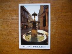 Hérault , Montpellier , Fontaine De La Grande Rue Jean Moulin - Montpellier