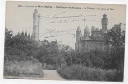 (RECTO / VERSO) BOULOGNE LA GRASSE - N° 536 - ENVIRONS DE MONTDIDIER - LE CHATEAU - VUE PRISE DU PARC - CPA - Other Municipalities