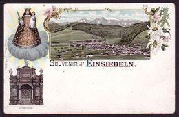 """(1057) EINSIEDELN """" Litho """" (C-2) - SZ Schwyz"""