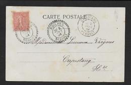 Hérault - Cachet  Pointillé  De  POILHES - Marcophilie (Lettres)