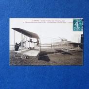 CPA-80-LE CROTOY-Ecole D'aviation Des Frères Caudron-René Caudron Et Ses Mécaniciens à Bord Du Biplan-Gros Plan - Le Crotoy