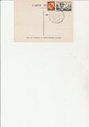 CARTE JOURNEE DU TIMBRE 1949 - CAD ILLUSTREAU DOS -TARBES -ET CAD TARBES GARE 26-3-1949 SUR LE DEVANT -- - ....-1949