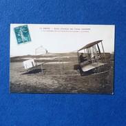 CPA-80-LE CROTOY-Ecole D'aviation Des Frères Caudron-Le Lieutenant Bon Sur Biplan Caudron-Gros Plan - Le Crotoy