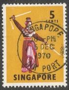 Singapore. 1968-73 Definitives. 5c Used. P14 SG 103 - Singapore (1959-...)