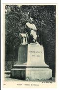 CPA ECRIVAIN - HONORE DE BALZAC ( Statue - Paris ) - Writers