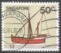 Singapore. 1980 Ships. 50c Used. SG 371 - Singapore (1959-...)