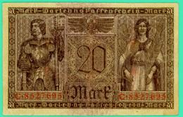 20 Mark - Allemagne - 20 Février 1918 - N° C.8527695 - Berlin -  TTB - - 20 Mark