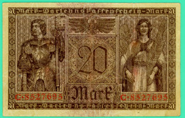 20 Mark - Allemagne - 20 Février 1918 - N° C.8527695 - Berlin -  TTB - - [ 2] 1871-1918 : German Empire