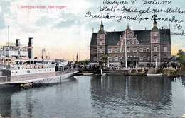 BANEGARDEN HELSINGOR (Schweden) - Dampfschiff, Gel.190?, Stempel Braaskov - Schweden