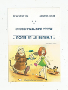 Calendrier , 1986 , L'HEURE ET LE BIJOU , 88 , VAGNEY , Maison Bastien - Lissolo  , Illustrateur ,  3 Scans - Petit Format : 1981-90