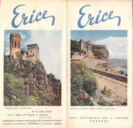 "05222 ""ERICE - ENTE PROVINCIALE PER IL TURISMO TRAPANI"" FOTOCOLOR KIRNER - Dépliants Turistici"